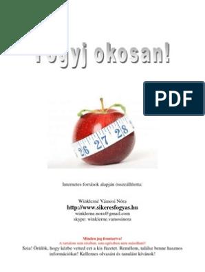almaecet a fogyáshoz pdf