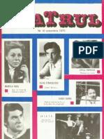 Revista Teatrul, nr.10, anul XV, octombrie 1970