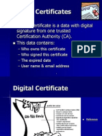 Digital Certificates (Certification Authority)