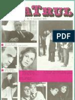 Revista Teatrul, nr. 11, anul XV, noiembrie 1970