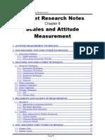 Scales and Attitude Measurement