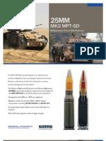 25mm MK2 MPT-SD Multipurpose Tracer-Self Destruct