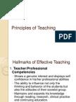 Principles of Teaching (1)