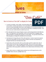 Om Cafe for Dignity