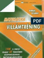 Matematika villamtrening