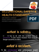 Occupational Safety and Health Std