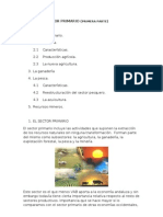 Sector Primario(Primera Parte)