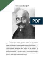 Palavras de Gurdjieff
