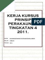 Kerja Kursus Prinsip Perakaunan Tingkatan 4 2011