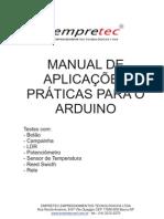 Manual de aplicações praticas para o Arduino