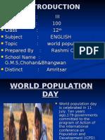 World Population Day Chowan&Bhawan Amritsar