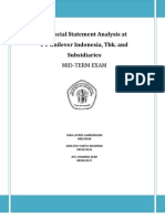 Analisis Laporan Keuangan - PT Unilever Indonesia Tbk.