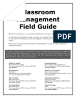 Classroom Management Field Guide