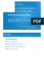 EASA Automation Policy_Michel Masson