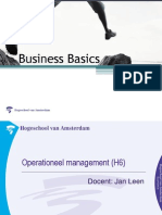 Business Basics MenO Operation Eel Management