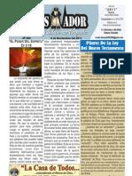 """2011-11-06 """"El Conquistador"""", Boletín semanal de La Casa de Todos"""