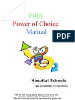 Manual -Power of Choice - Pbis