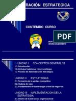 ADMINISTRACIÓN  ESTRATEGICA programay Unid. I