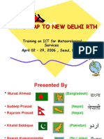 Road Map to New Delhi Rth