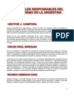 LISTA DE LOS PRINCIPALES TERRORISTAS
