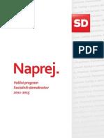 Volilni program stranke SD 2011-2015
