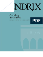 2011-2012 Catalog