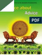 Advice About Advice