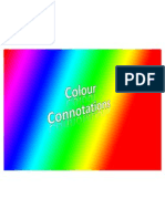 Colour Connotations for Media