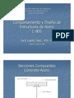 COMPORTAMIENTYO Y DISEÑO DE ESTRUCTURAS DE ACERO