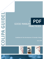 03 - Good Manufacturing Practices - Guidelines for the Manufacturer of Cosmetic Products