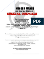 Hunger Games Discussion Questions Preview