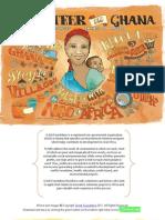 Volunteer in Africa Ghana Brochure