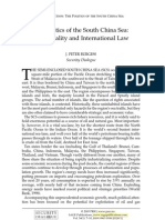 Burgess, Politics of the South China Sea-Territoriality and