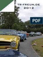 TR-Freunde Kalender 2012 - A3 Hochformat