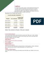 Equities Derivatives