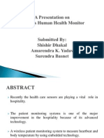 Wireless Human Health