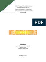 Inteligencias Multiples. Liubert Zambrano 2011