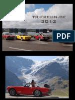 TR-Freunde Kalender 2012 - A3 Querformat