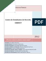 Programa Lista B CEDUCT 2012