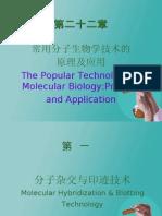 常用分子生物学技术的