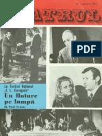 Revista Teatrul, nr. 1, anul XVIII, ianuarie 1973