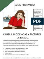 DEPRESION POSTPARTO Presentacion