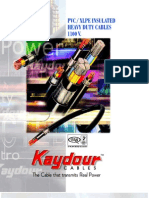 Kaydour Cables Catalogue