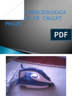 Analiza Merceologica a Fierului de Calcat Philips