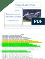 Rapporto Turismo Ravenna Feb2010