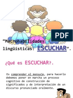 MACROHABILIDADES, ESCUCHAR