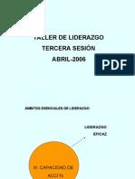 Taller de Liderazgo Tercera Sesion2006