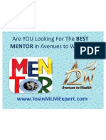 Best Avenues to Wealth Mentor