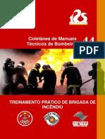 MTB-44 Treinamento Pratico de Brigada de Incendio
