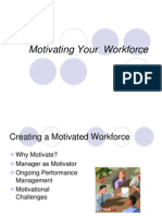 Motivating Your Workforce Ppt